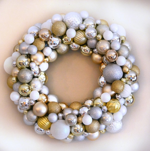 Ornament Wreath-- Sondra Lyn at Home
