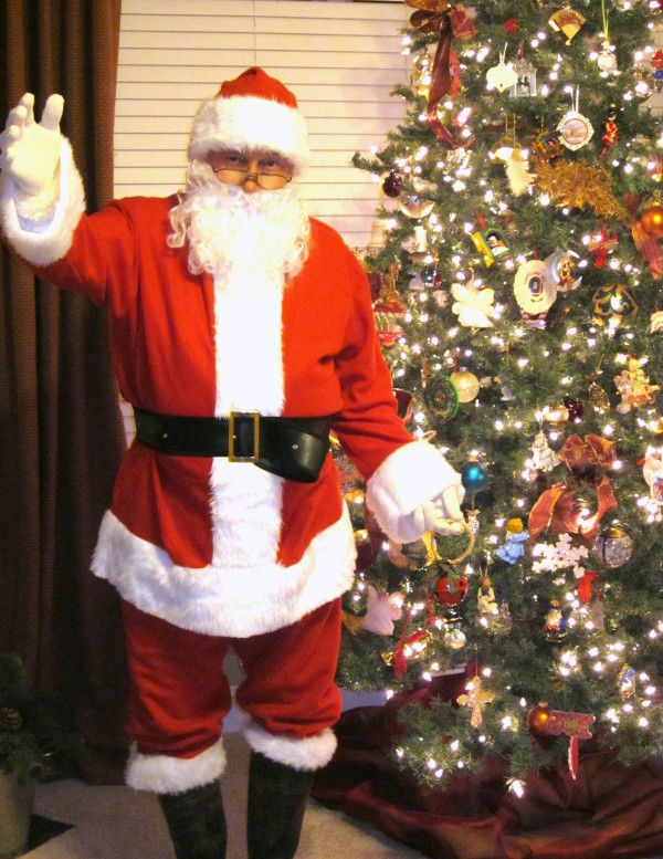 Santa Approves- Sondra Lyn at Home