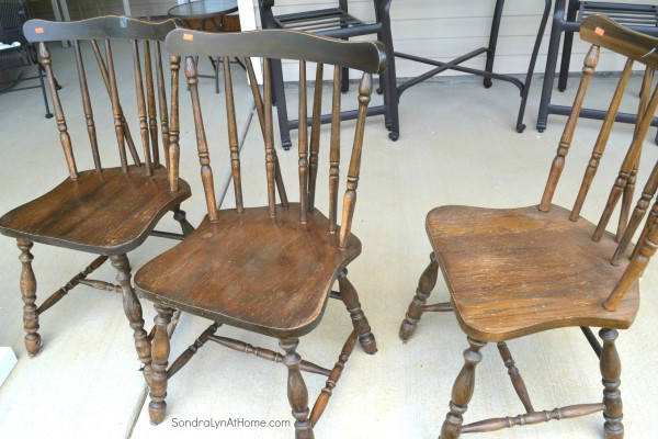 Chalk Paint Recipe- Chairs- Sondra Lyn at Home-w
