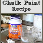 Chalk Paint Recipe-- Sondra Lyn at Home