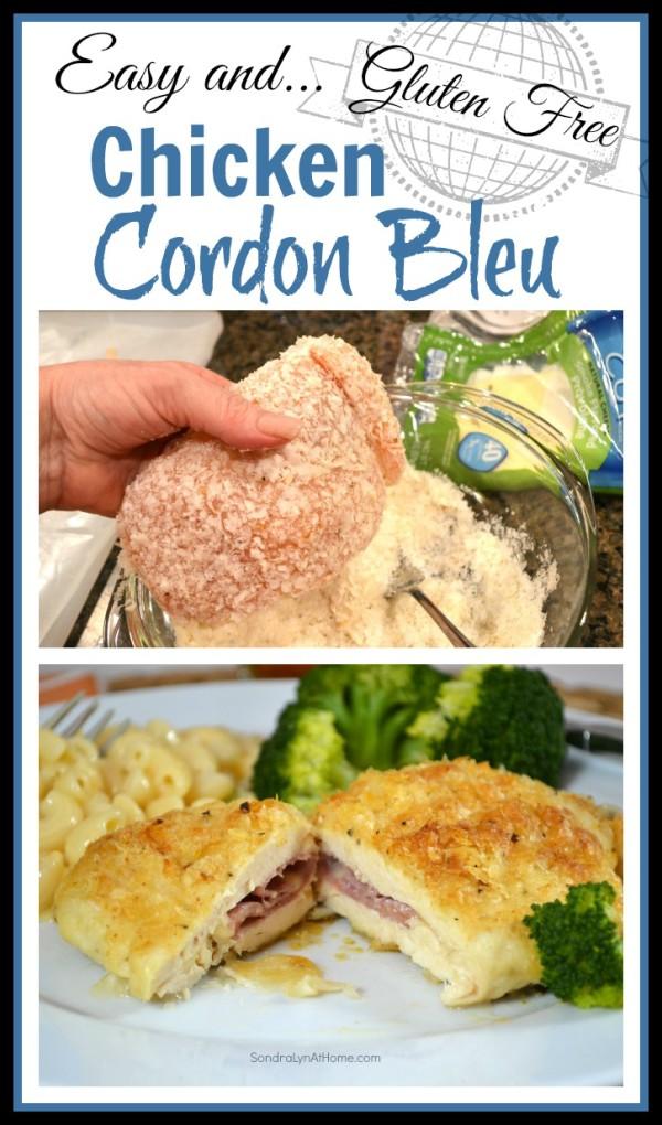 Gluten Free Chicken Cordon Bleu Recipe Sondra Lyn At Home