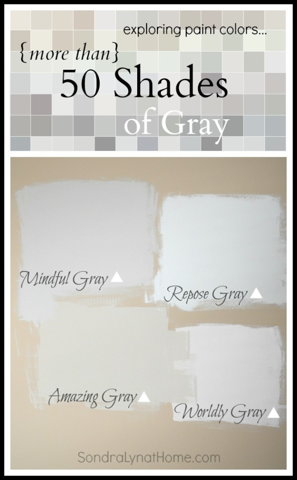 More than 50 Shades of Gray -- Sondra Lyn at Home