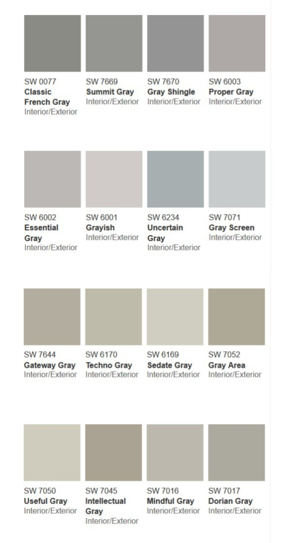 Gray Shades more than} 50 shades of gray - sondra lyn at home