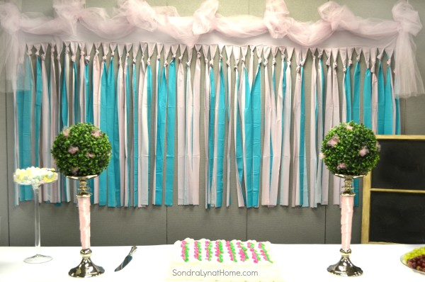 Decorating for a Baby Shower Sondra Lyn at Home : Shower Backdrop Sondra Lyn at Home from sondralynathome.com size 600 x 398 jpeg 110kB