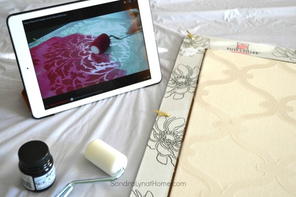 Instruction Video- Paint-A-Pillow - Sondra Lyn at Home