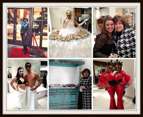 Pirch Italian Masquerade Event -- Sondra Lyn at Home
