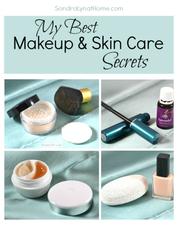 My Best Makeup and Skin Care Tips --- Sondra Lyn at Home
