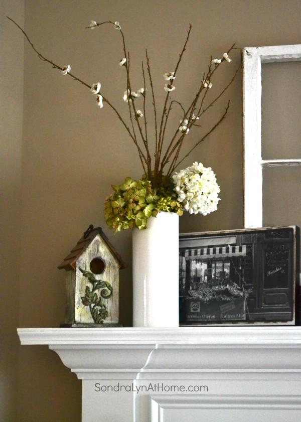 Vintage French Mantel - Sondra Lyn at Home
