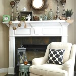 Coastal Vibe Summer Mantel