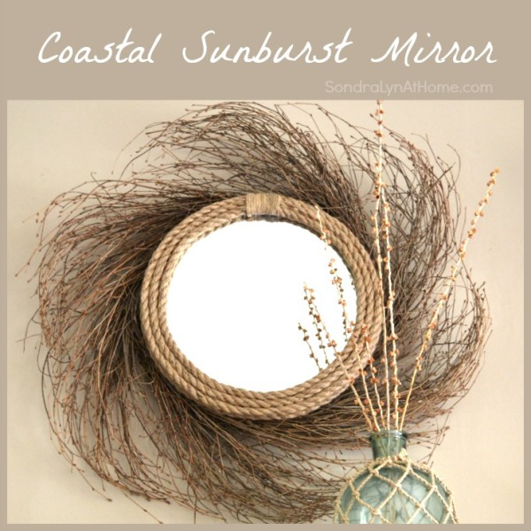 Coastal Sunburst Mirror - Sondra-Lyn-at-Home