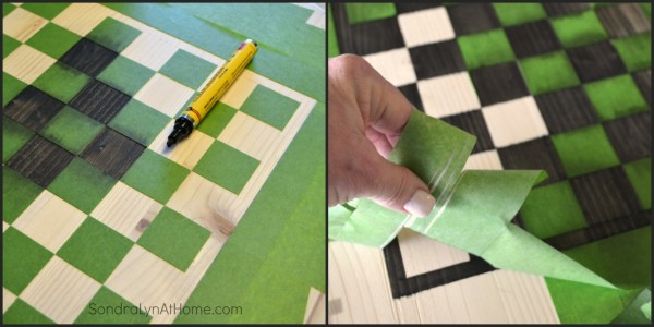 How to Make a Checkerboard-6- Sondra Lyn at Home