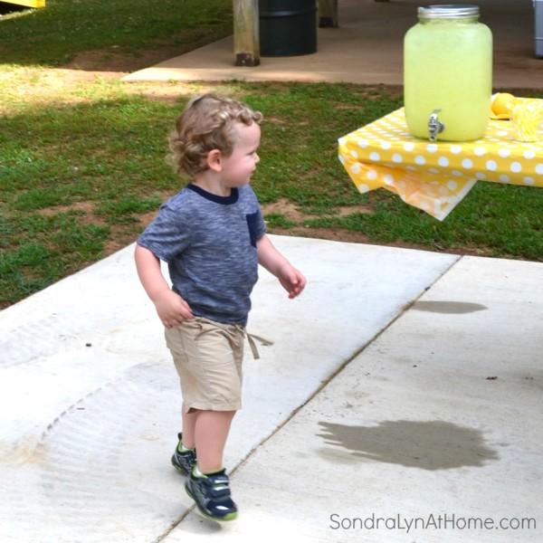 Lemonade Stand Birthday Party- Sondra Lyn at Home.com
