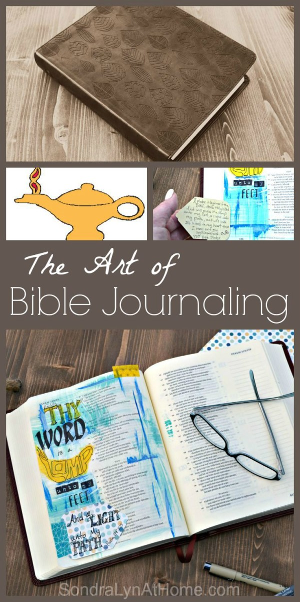 The Art of Bible Journaling -Sondra Lyn at Home.com