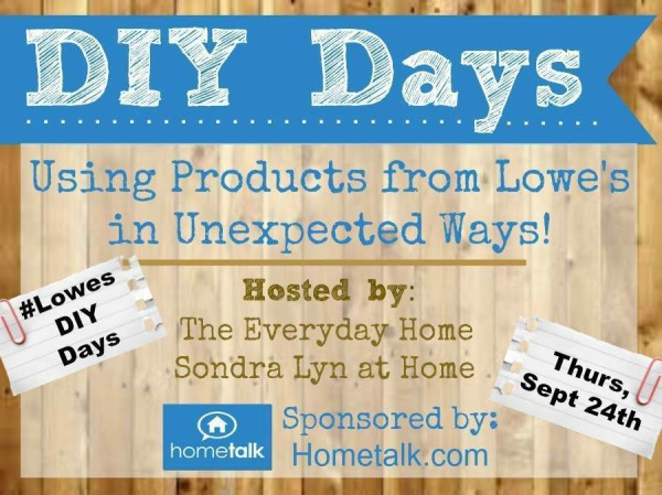 DIY Days - Sept2015