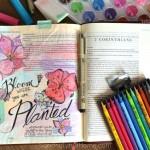 Bloom Journaling Page