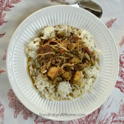 Chicken and Sausage Gumbo - SondraLynAtHome.com