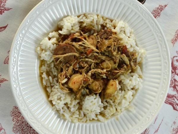 Chicken and Sausage Gumbo - SondraLynAtHome.com