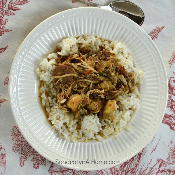 No-Roux Sausage and Chicken Gumbo