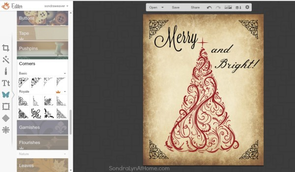 How to Make a Printable - save your work - Sondra Lyn at Home.com