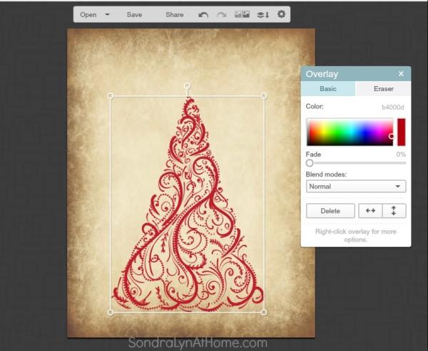 How to Make a Printable - select a color- Sondra Lyn at Home.com