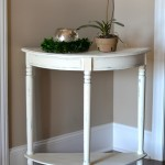 Side Table Makeover with Chalk Finish