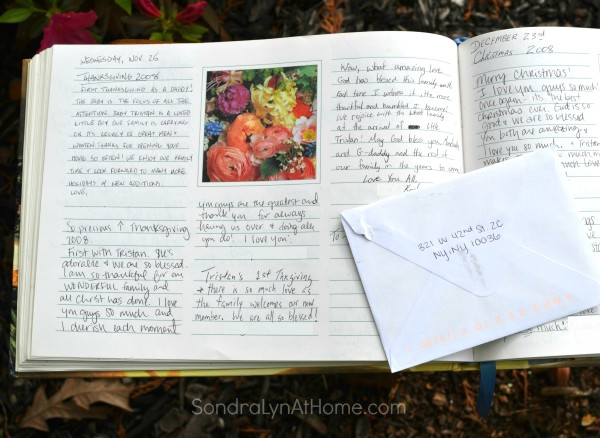 Have Your Guests Sign a Guest Book - Page from Book - Sondra Lyn at Home