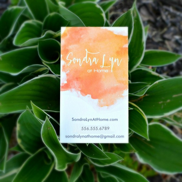 Sondra Lyn at Home Business Card - from Minted.com