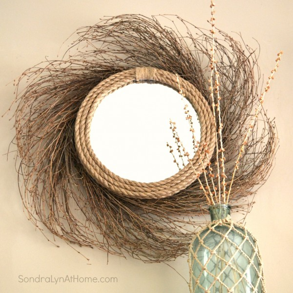 Sunburst Mirror with a Coastal Vibe - Sondra Lyn at Home