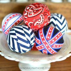 Red White Blue Patriotic Decor Filler Balls in MilkGlass Bowl-650x650-SONDRALYNATHOME.com-
