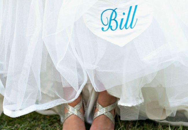 A Wedding Dress Applique