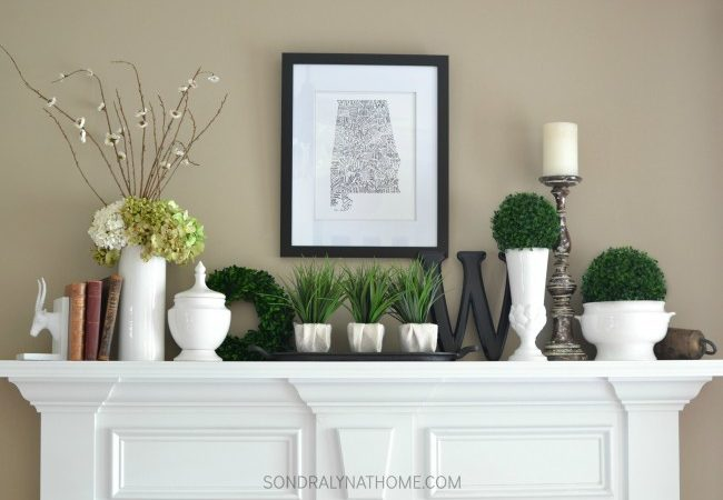 A Mantel for All Seasons
