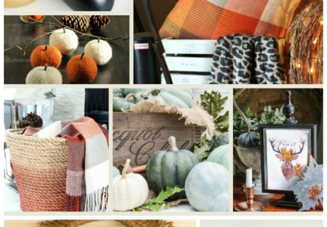 10 Stunningly Simple DIY Fall Decor Ideas