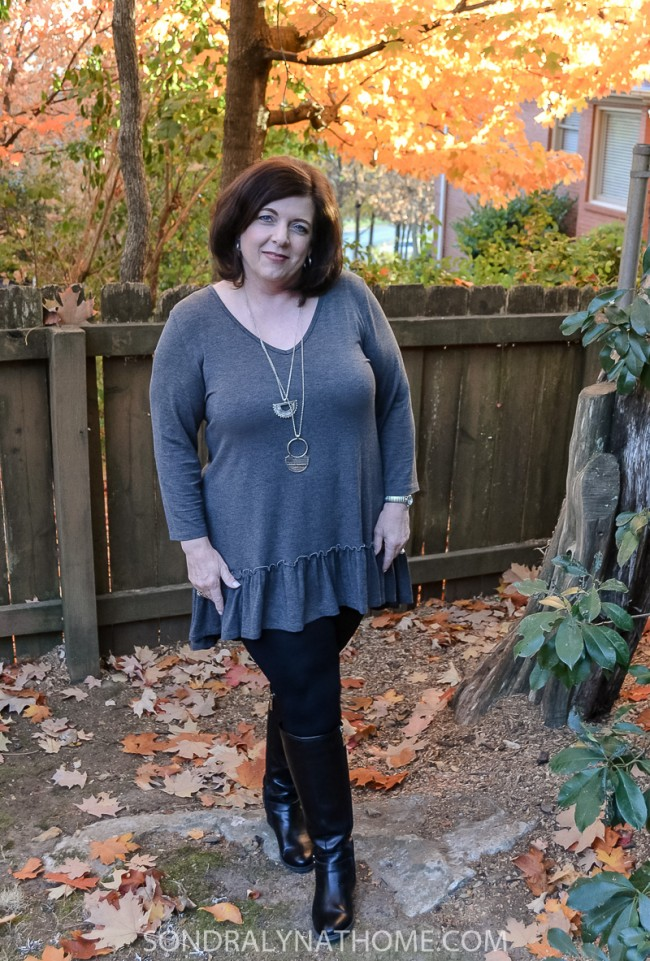 fashion-friday-with-gray-tunic-and-necklace-sondra-lyn-at-home-com4