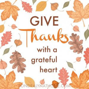'Give Thanks' Thanksgiving Printable