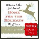 Home for the Holidays Blog Tour 2016
