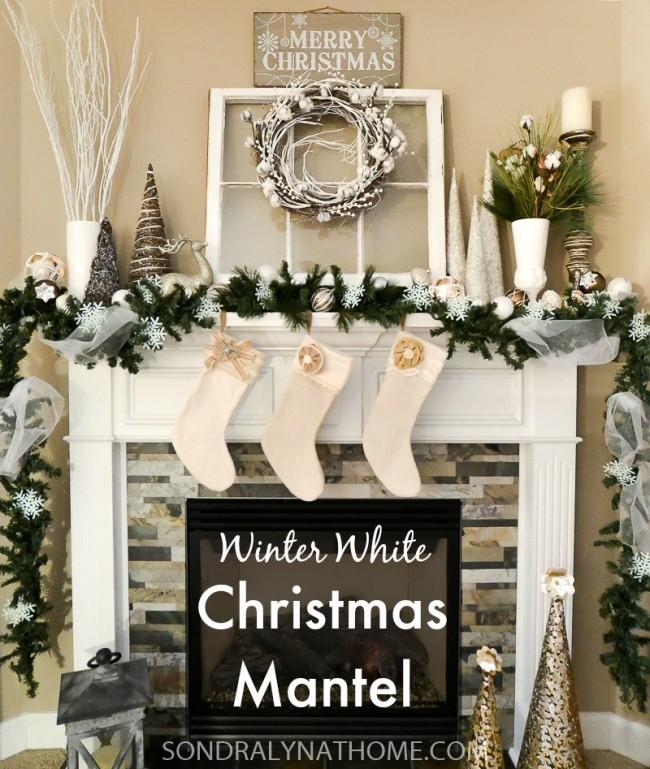 winter-white-christmas-mantel-title-photo-sondra-lyn-at-home-com