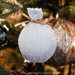 DIY Sweater Christmas Ornaments