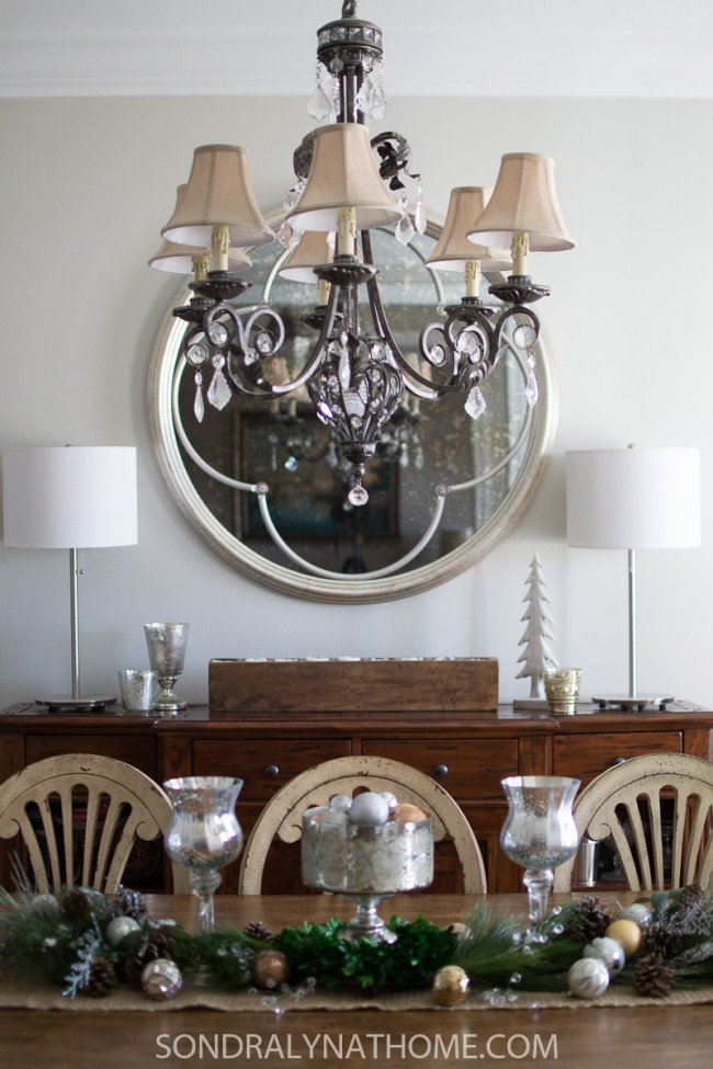 Dining Room Makeover - Repose Gray - Sondra Lyn at Home.com