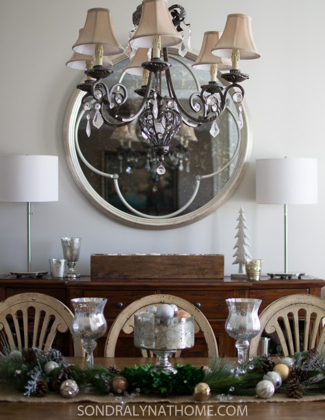 Dining Room Makeover - Sondra Lyn at Home.com