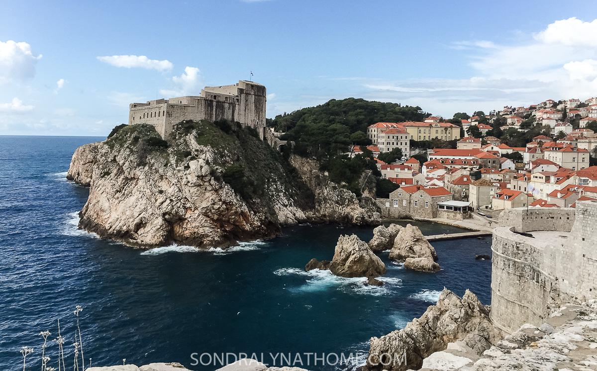 Dubrovnik Castle,Croatia -- Sondra Lyn at Home.com