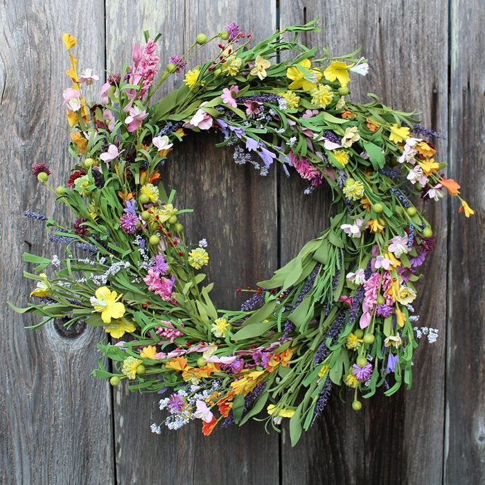 Spring Wreath - Sondra Lyn at Home.com