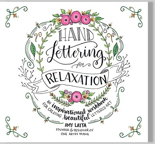 Hand Lettering Workbook by Amy Latta