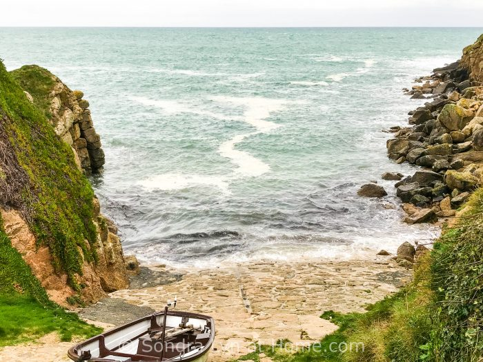 Porthgwarra Cove - Cornwall 2017 - Sondra Lyn at Home.com