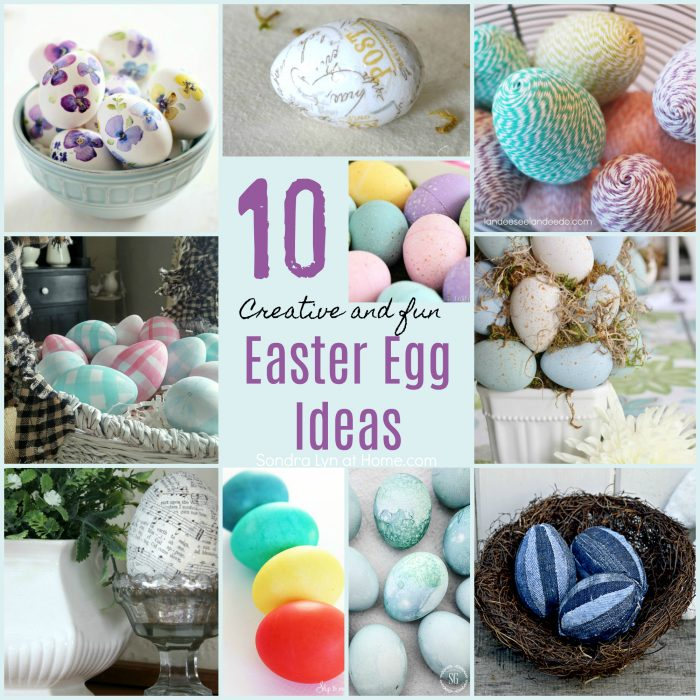 Fun and Creative Easter Egg Ideas