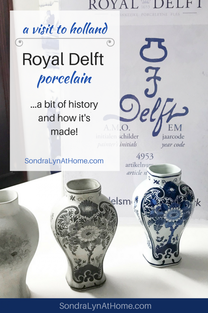 A Visit To Royal Delft Of Holland Sondra Lyn At Home