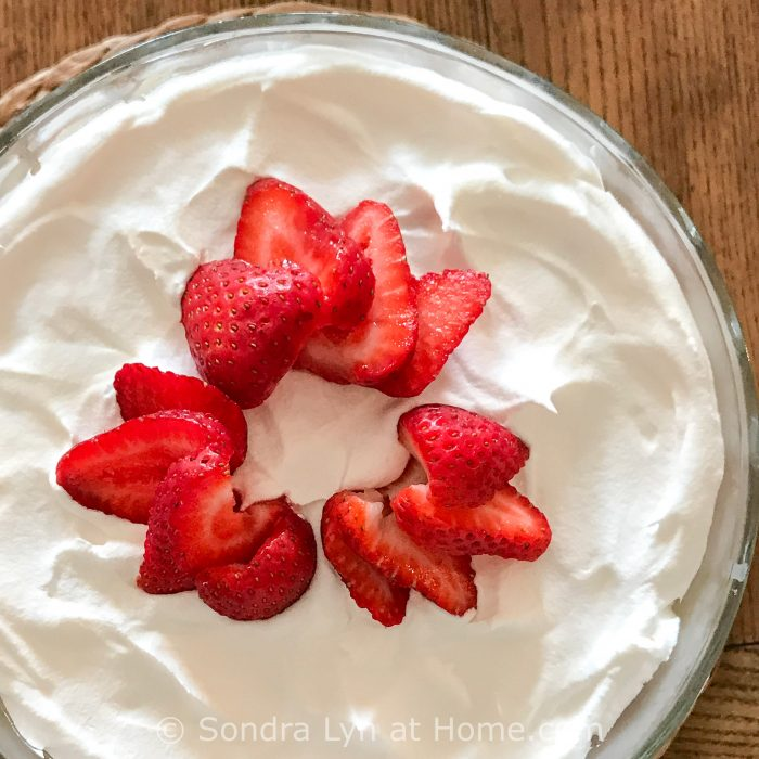 Easy Strawberry Trifle - Sondra Lyn at Home